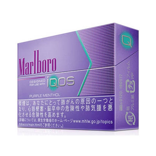 Marlboro 「iqos」 Heat Stick Purple Menthol 【can T Accept