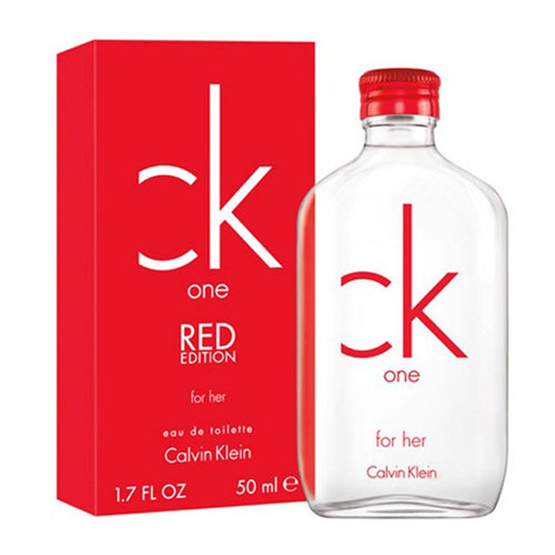 CK ONE RED for her EDT 100ml