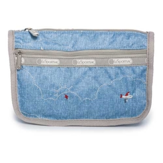 TRAVEL COSMETIC 「FLIGHT TIME DENIM」 7315-K369