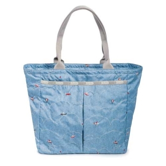 SMALL EVERYGIRL TOTE「FLIGHT TIME DENIM」 7470-K369