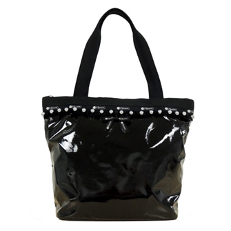 SMALL HAILEY TOTE 「BLACK PEARL PATENT」 2659-K564