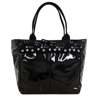 SMALL EVERYGIRL TOTE 「BLACK PEARL PATENT」 7470-K564