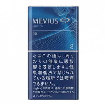 MEVIUS LIGHTS 100's BOX 8mg