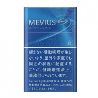 MEVIUS SUPER LIGHTS KS BOX 6mg