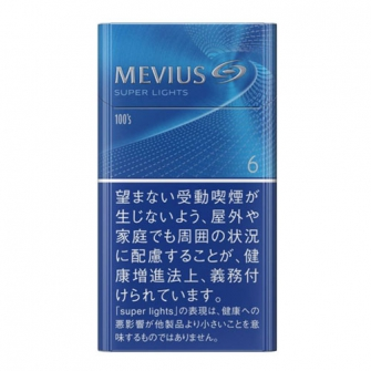 MEVIUS SUPER LIGHTS 100s' BOX 6mg