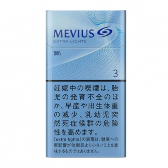 MEVIUS EXTRA LIGHTS 100's BOX 3mg