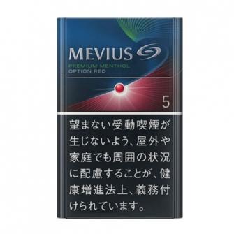 MEVIUS PREMIUM MENTHOL OPTION RED 5 KS BOX 5mg