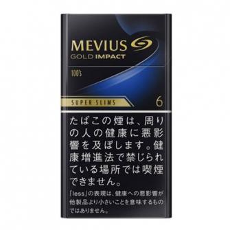 MEVIUS GOLD IMPACT 6 100's SLIM 6mg