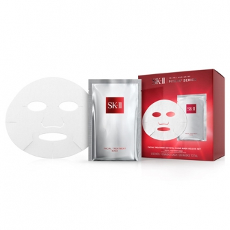 Facial Treatment Crystal Clear Mask Deluxe Set 10pcs×2