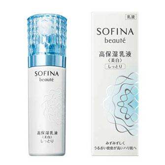 SOFINA beaute Highly Moisturizing Emulsion <Whitening> Moist 60g