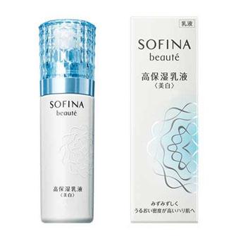 SOFINA beaute Highly Moisturizing Emulsion <Whitening> Very Moist 60g