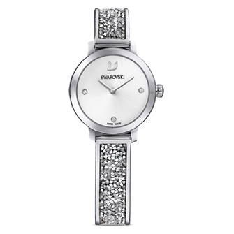 【SALE】Cosmic Rock Watch, Metal bracelet, White, Stainless steel 5376080