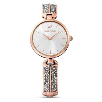 【SALE】Dream Rock Watch, Metal Bracelet, Silver tone, Rose-gold tone PVD 5519306