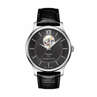 TISSOT TRADITION AUTOMATIC OPEN HEART T0639071605800
